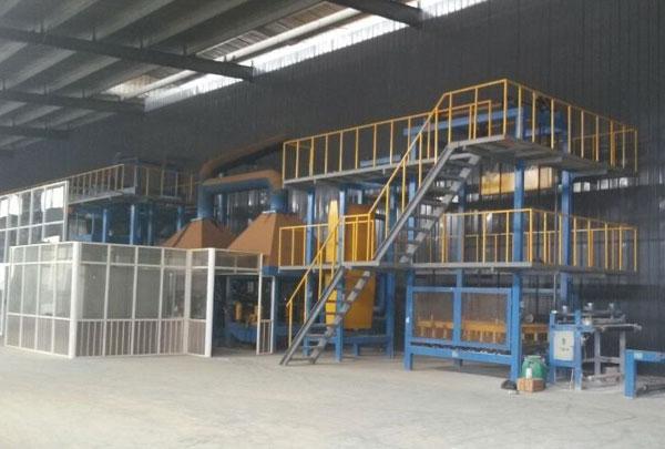 湖北世界杯盘口建材股份有限公司生产设备