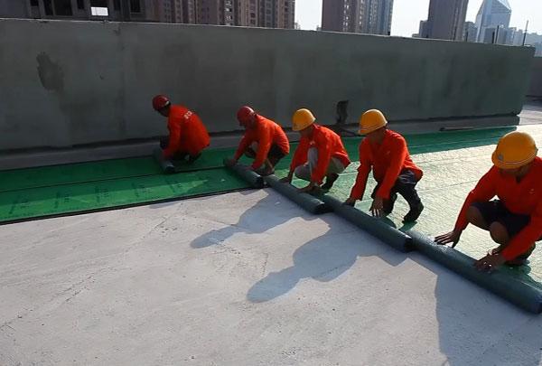 湖北世界杯盘口建材股份有限公司现场施工团队